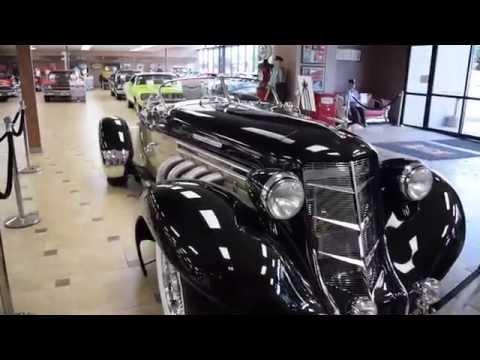 Walk Around & Start 1936 Auburn Speedster #2540