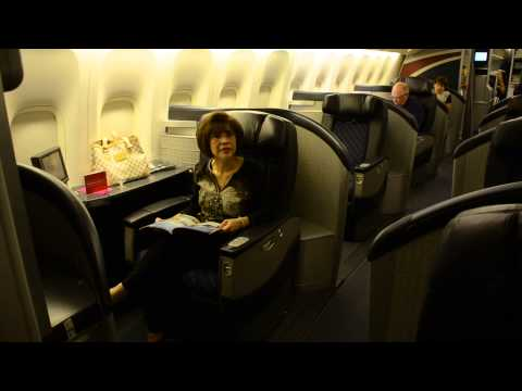 American Airlines # 80 First Class