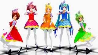 【MMD】SexyLove【Miku ,Rin, Teto, Meiko, Gumi】