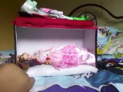 Como Hacer Una Litera Para Tus Muñecas Barbie O Monster High