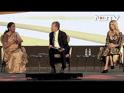 Ivanka Trump, Nirmala Sitharaman Discuss Start Ups And Women Entrepreneurs