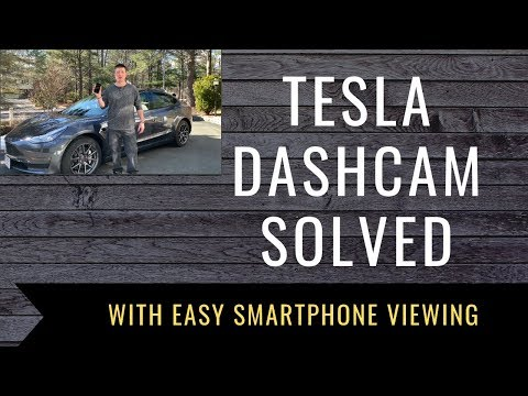 TeslaCam Tesla Dash Cam USB Drive Solution With Easy Smartphone Viewing   Tesla Dash Cam Easy Setup