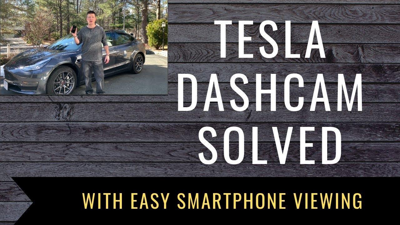 TeslaCam Tesla Dash Cam USB Drive Solution with Easy Smartphone Viewing |  Tesla Dash Cam Easy Setup