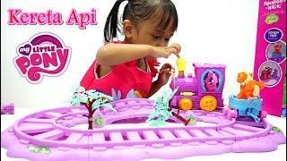 Mainan Anak Kereta Api My Little Pony 💖 Unboxing Mainan Lucu + Cantik Banget 💖 Let's Play Jenica