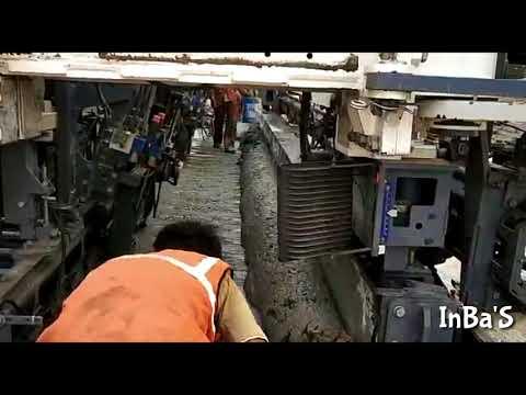 """PQC Road Laying by PQC Road Paver Machine """