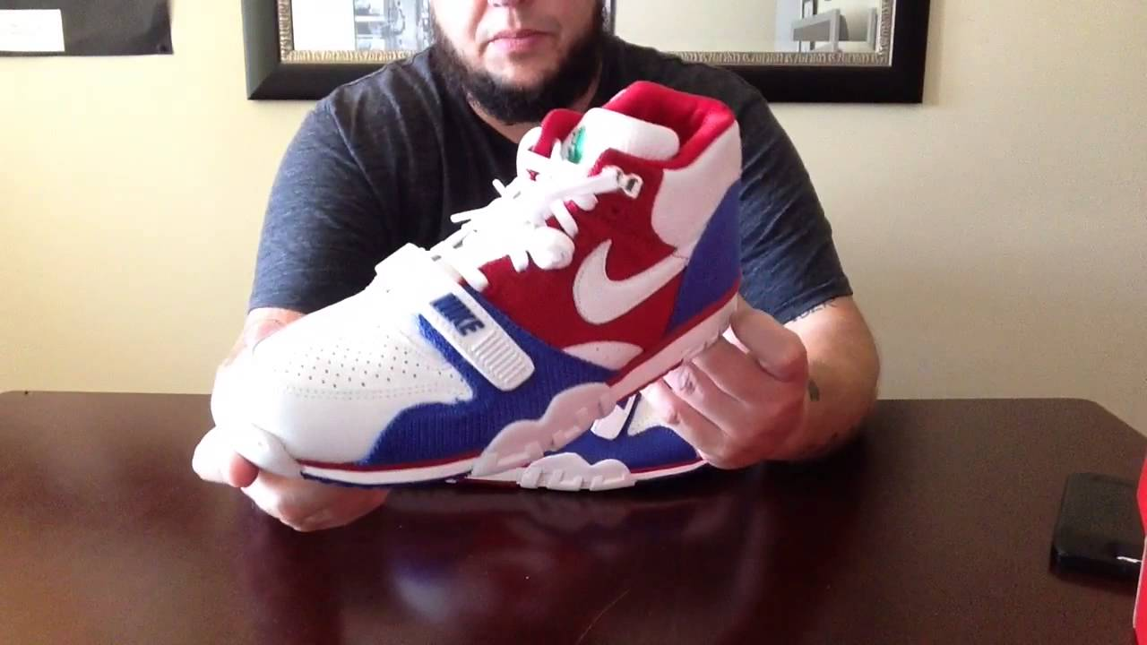 save off abf80 2c6f4 Unboxing New Pick Up Puerto Rico Nike Air Trainer 1 From NDC Clearance   staypuft76