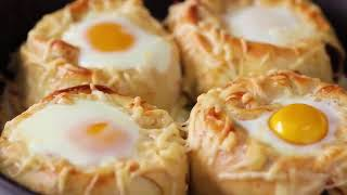 Easy Egg Recipes for Breakfast 🍔🍗 | How to Make Egg Recipes at Home😍 | Best Recipes😋🍖