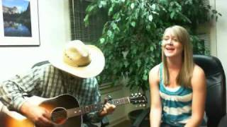 Kara and Kaleb Skiles cover- Butterfly Kisses by Bob Carlisle
