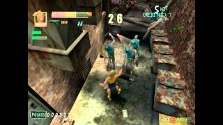 Zombie Revenge - Gameplay Dreamcast HD 720P