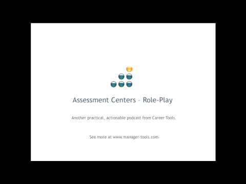Assessment Centers - Role-Play