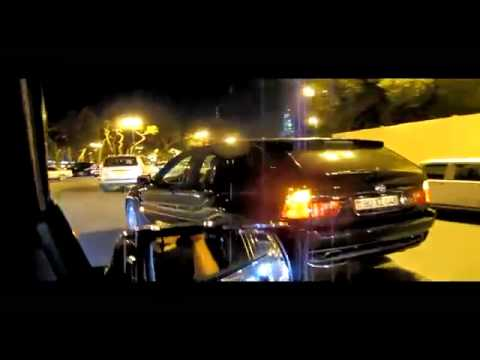 Cortege BMW X5 4 8is BAKU NIGHT 2 HD mp4