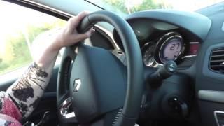 Правильное действие при повороте с автоинструктором.