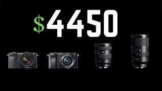 Sony Announces the A6100, A6600, and Two APS-C Lenses
