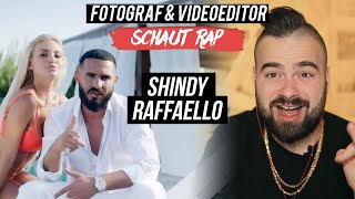 SHINDY - RAFFAELLO // LIVE REACTION // FOTOGRAF & VIDEOEDITOR SCHAUT RAP