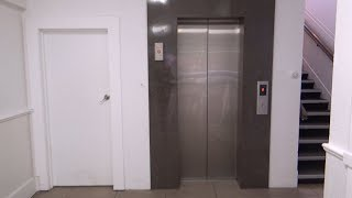 Cheap Gen2! OTIS Gen2 MRL Traction Lift/Elevator @ Commercial Building, Palmerston North, NZ