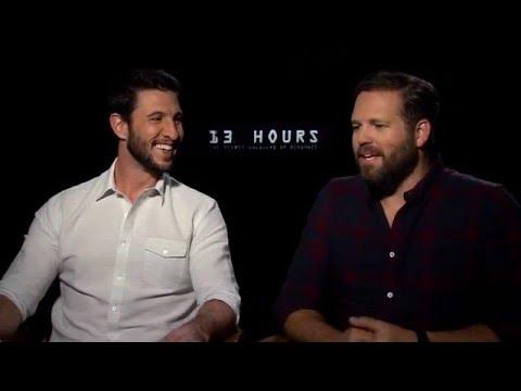 13 Hours  Pablo Schreiber & David Denman