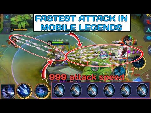 FASTEST ATTACK IN MOBILE LEGENDS   6 WINDTALKER + passive + ulti + 1st skill