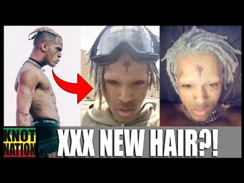 XXXTentacion SHAVES His Eyebrows & Dyes DREADS!