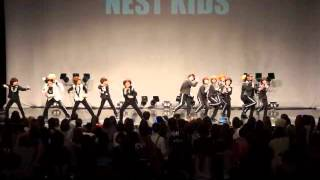 MVK   NEST KIDS  super junior ♪Mr simple cover