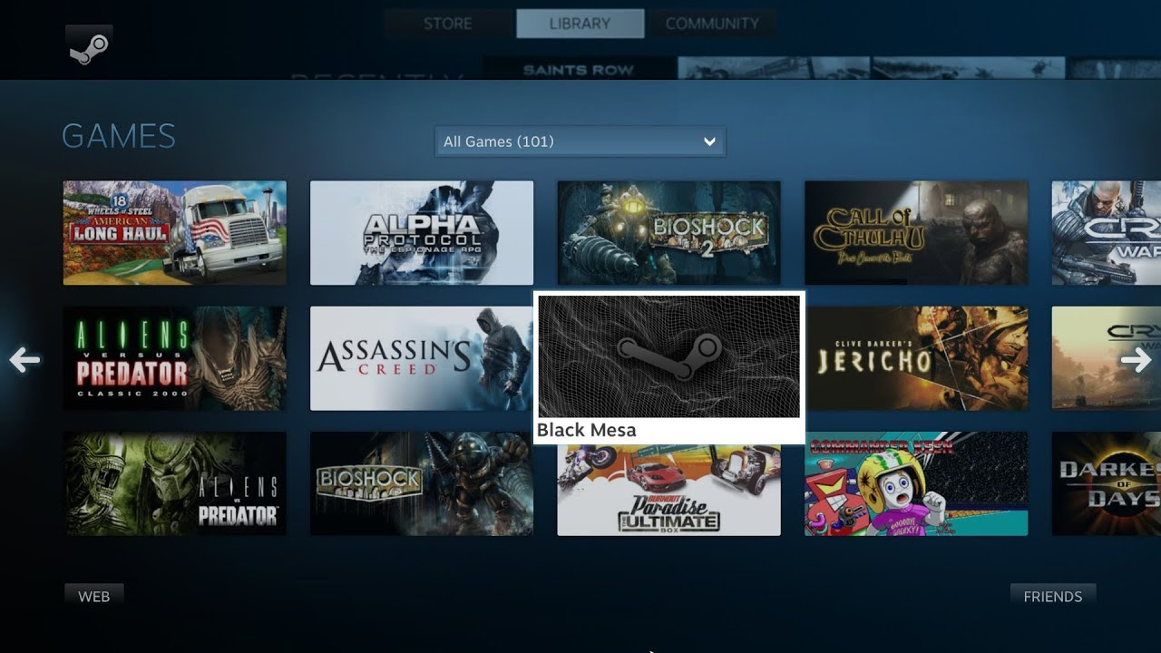Steam Games For Ps4 : Steam os a hands on review youtube