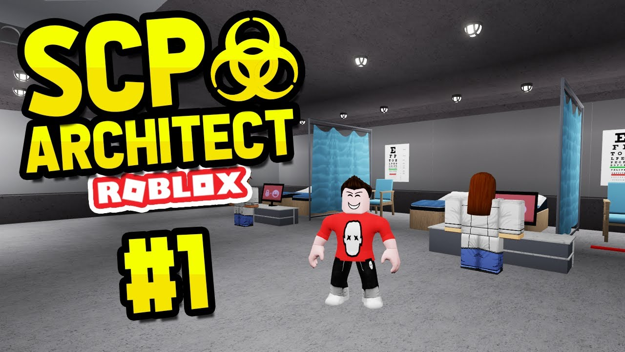 Building A New Research Company Roblox Scp Architect 1 Youtube