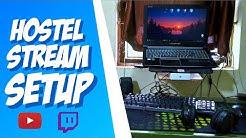 Hostel Stream Setup 🏬 || India Budget Streaming Tips