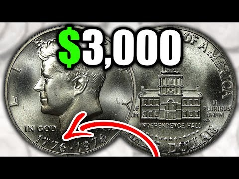 SUPER RARE 1976 HALF DOLLARS WORTH MONEY - EXPENSIVE COINS TO LOOK FOR!!
