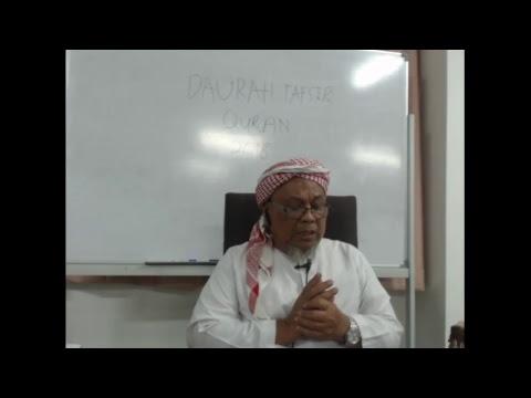 Download DAURAH TAFSIR  QURAN DI MADRASAH TAFSIR SUNNAH 2018 SESI MLM  ( 29-4-18)