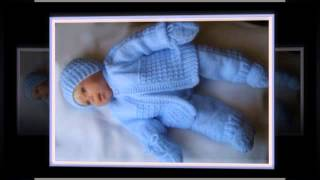 Hand Knitted Baby Layette Christening Pram Sets Ply