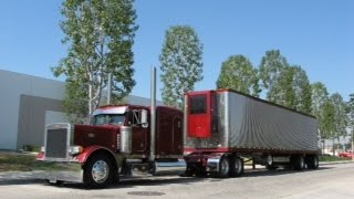 Big Peterbilts, CB Radios & Some Long Haul Trucking: Truck Driver VLOG #14