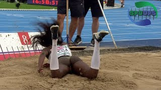 Women Long Jump Final | Accidents | BYDGOSZCZ 2017