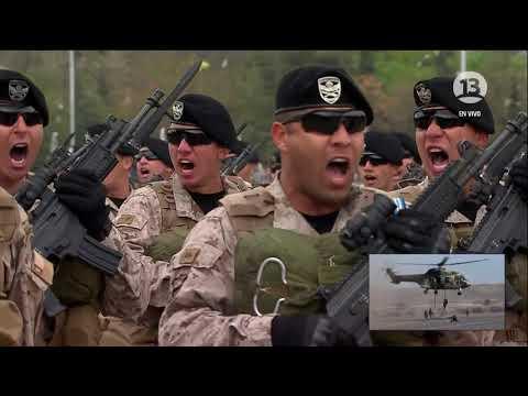 Brigada de Operaciones Especiales Lautaro - Parada Militar 2017 Chile