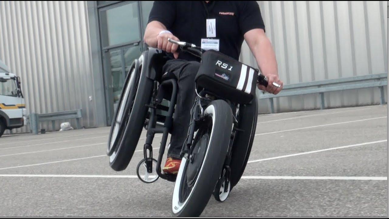 Handbike Sonderbau Rollstuhl RS1 - YouTube