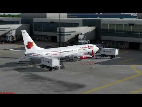 Boeing 737-900 Houston (KIAH) to Montreal (CYUL) P3D v4.1