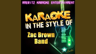 Highway 20 Ride (In the Style of Zac Brown Band) (Karaoke Version)