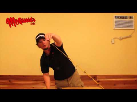 Setting Up Lead Core Rod - Mcquoids Inn Video Blog