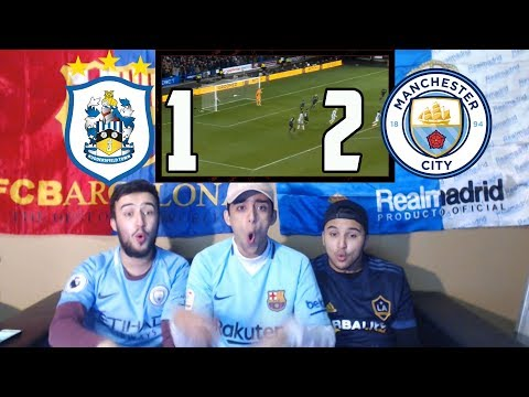 BARÇA & MADRID FANS REACT TO: MAN CITY 1-2 RECORD BREAKING WIN OVER HUDDERSFIELD - REACTION