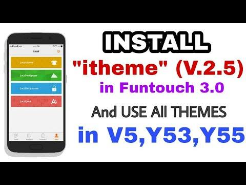 itheme 2 5 in Funtouch 3 0 for Vivo V5,Y53,Y69