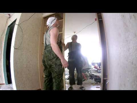видео: шкаф купе по шагам сделай сам №2