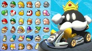King Bob-omb in Mario Kart 8 (Mushroom Cup)