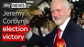 General Election: Jeremy Corbyn's victory thumbnail