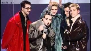 'N Sync Win Favorite Pop/Rock Artist Award - AMA 1999