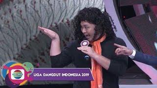GOKIL ABEESSH! Ari Tulodong Lentur Ajari Linda Menari - LIDA 2019