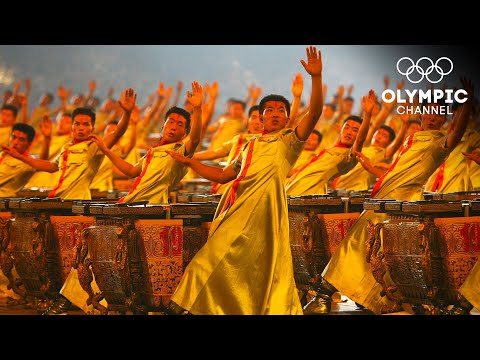 The sound of 2008 people drumming to the same beat | Opening Ceremony Beijing 2008