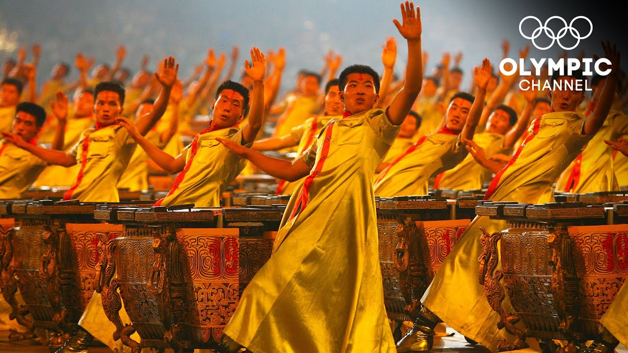 2008 Chinese drummers in 2008