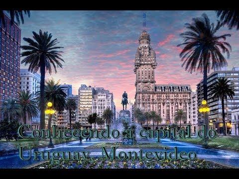 Conhecendo a capital do Uruguay Montevideo part.1