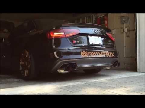 Audi S4 B8 Sedan Avant Armytrix Exhaust Mods Best Tuning Review Price