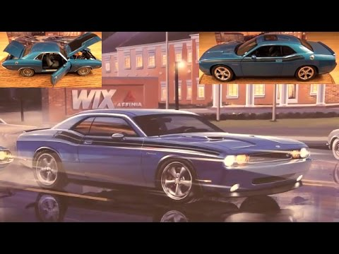 Review: 1/18 2009/1970 WIX B5 Blue Challenger 2 Car Set by HWY 61
