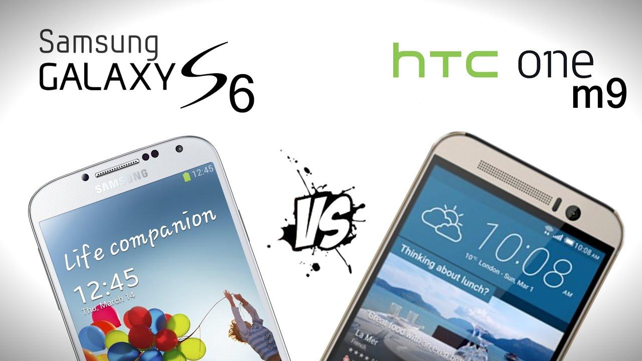 Galaxy S6/S6 Edge vs HTC ONE M9 - Comparison