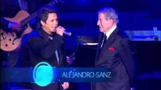 Tony Bennett & Alejandro Sanz - Yesterday I Heard the Rain at Las Lunas del Auditorio